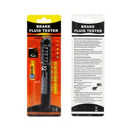 Saturn Electronics Australia - Car Brake Fluid Tester Pen 5 LED Mini Electronic Brake Fluid Liquid Tester Pen