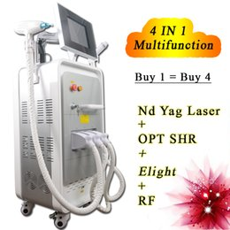 Laser Hair Face Canada - SHR laser hair removal machine for sale nd yag laser for tattoo removal vacuum rf skin tightening face lifting