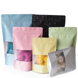 Ingrosso Sacchetti colorati anti-odore a chiusura lampo Mylar Borse Sacco di alluminio Imballaggio con cerniera Borsa autoportante tasca tasca sacchetto dell'alimento