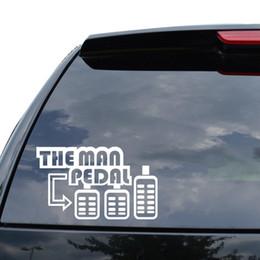 $enCountryForm.capitalKeyWord UK - The Man Pedal Shift Manual Japanese Jdm Decal Car Sticker Truck Motorcycle SUVs Bumper Vinyl Decor Decals