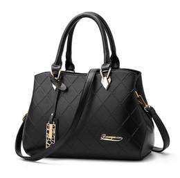 $enCountryForm.capitalKeyWord NZ - Handbags pu female bag metal sheets decoration Solid Messenger Bag sweet lady fashion cluxury women shoulder bag