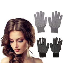 style straight hair flat iron Australia - home2010 Safety gloves Heat Resistant Protective Glove Hair Styling For Curling Straight Flat Iron Work gloves