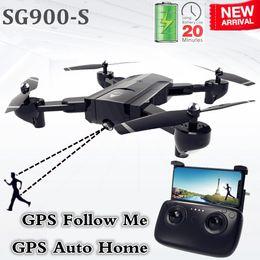 $enCountryForm.capitalKeyWord Australia - Sg900-s Sg900 Gps Drone With Camera Hd 1080p Professional Fpv Wifi Drones Auto Return Dron Rc Quadcopter Helicopter Vs F11 X5 C19041901