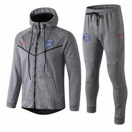 Shields Jack Canada - good quality new PSG tracksuits VERRATTI Silva 18 19 Paris Saint Germain football Suit CAVANI training suit soccer jersey MBAPPE Hoodie jack