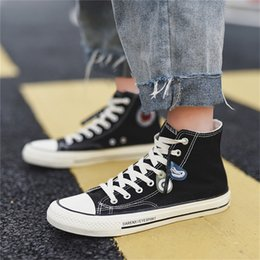 $enCountryForm.capitalKeyWord Australia - Men Ankle Boot Plimsolls Spring Male Teenage Board Shoes Fall Rugged Skate Sneakers Fashion Ulzzang Back To School Casual Canvas Shoes