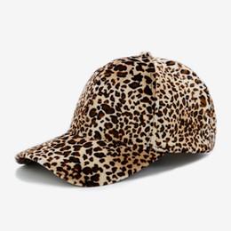79e444498cd7 Wholesale Leopard Caps UK - COKK Leopard Baseball Cap Women Snapback  Vintage Hip Hop Baseball Hats