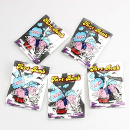 Stink Bombs Bags Australia - Fart Bomb Bags April Fools Day Toy Novelty Stink Pocket Prank Portable Gag Bardian Creative Interesting 0 11ph D1