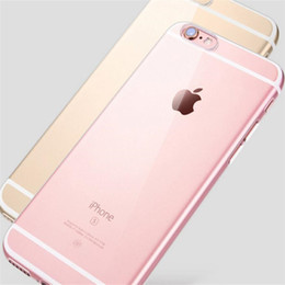 Iphone 5g Tpu Australia - 0.3mm Soft TPU Clear Cover For iPhone 5S 5G 5SE 6S 6 Plus 7S 7 Plus 8 X 10 Xs Max Xr Silicone Thin Slim Transparent Plastic Cellphone Case