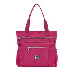 Deep Tote Bag Australia - Fashion 2019 Women Tote Bag High Quality Ladies Handbags Shoulder Bag For Women Nylon Handbag Crossbody Female Bolsas Sac A Main