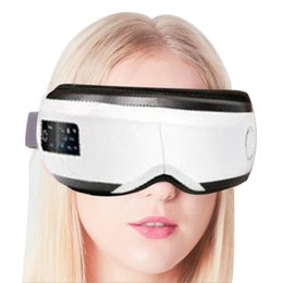 heated massage Australia - Smart Eye Massager Anti Wrinkles Eyes Massage for tired eyes Air Compression heated Goggles Dark circles remove with travel case
