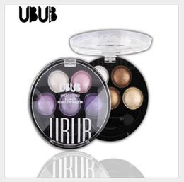 $enCountryForm.capitalKeyWord Australia - UBUB 5 colors Eye Shadow palette 6 combined colors optional makeup eyeshadow maquillage makeup palette dhl free shipping
