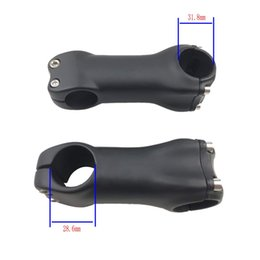 17 Degree Bicycle Carbon Stems NZ - 2019 Full Carbon Stem UD 3K Matte 31.8mm Clamp Carbon Stem for MTB Road Bicycle 6 Degree 17 Degree 80 90 100 110 120mm