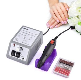 Wholesale 20000RPM Electric File Drill Nail Art Bit Professional Manicure Grinding Machine Pedicure Polisher Tools Adjustable Nail Beauty