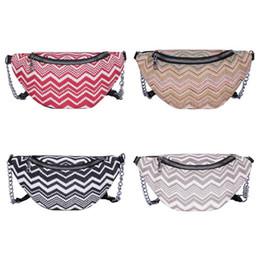 $enCountryForm.capitalKeyWord Australia - New Arrival Weave Waist Fanny Pack Women Wavy Stripe 2019 Fashion Summer Beach Shoulder Bag Phone Lipstick Powder Chest Bag