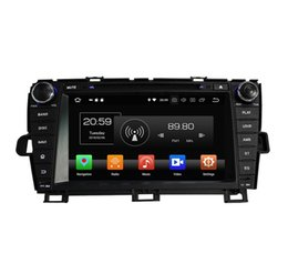 phone mp3 radio UK - For toyota Prius 2009 2010 2011 2012 2013 Android 8.0 Octa Core Car DVD Player Radio GPS Bluetooth WIFI USB Mirror-link 4GB RAM 32GB ROM