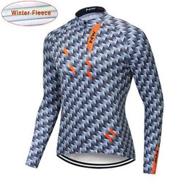 anti thermal clothing 2019 - NW 2019 Cycling Jersey Winter Thermal Fleece Bicycle Cycling Jersey Jacket Warm Winter Keep warm Moutain Bike Clothing N