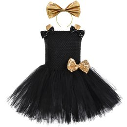 $enCountryForm.capitalKeyWord Australia - Halloween lol Costume For Kids Girls Black Unicorn Birthday Party Tutu Dress Children Carnival Harajuku Novel Outfit ClothesMX190912