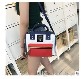 $enCountryForm.capitalKeyWord Australia - Wholesale- 2016 Japan Famous Hot Sale Anello Backpack Bags Brand Women Canvas School Bags For Teenage Girls Trend Casual Smile Tote Bags