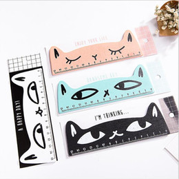 $enCountryForm.capitalKeyWord Australia - wooden ruler kawaii stationery cat design Funny Office accessories School escolar kids study supplies with retail package