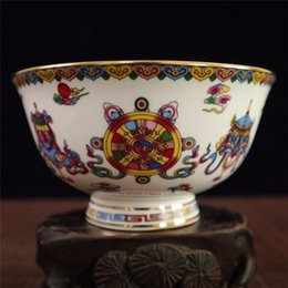 Chinese Porcelain Painting Australia - Collection Chinese Beautiful and refined porcelain Bowl Handwork Painted Bowl