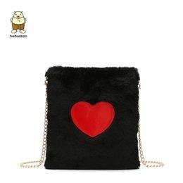ad78b4c5f Beibaobao New Faux Fur Shoulder Bags For Women Femme Bolsa Feminina Lady  Crossbody Bags Famous Brand For Women Messenger