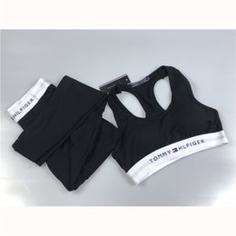 Brand trouser for women online shopping - Fashion Brand Women Fitness Sets with Letter Print Sexy Women Yoga Pants Sports Style Outfits Trousers for Running Exercises