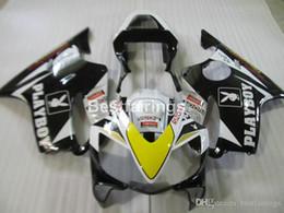 $enCountryForm.capitalKeyWord Australia - Injection mold ABS plastic fairing kit for Honda CBR600 F4i 01 02 03 white black fairings CBR600F4i 2001 2002 2003 HW18