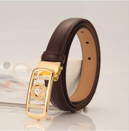 26 Genuine Leather Australia - Devil's Eye Female Decorative Belt Genuine Leather Thin Belt Free Shipping A4