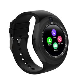 $enCountryForm.capitalKeyWord UK - Smartwatch for Android Y1 With Camera Version Smart Watch Cell Phone Bluetooth watches for Iphone in Retail Package