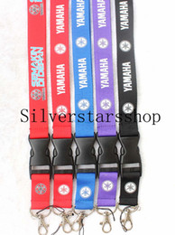 $enCountryForm.capitalKeyWord Australia - YAMAHA motorcycle Lanyard Key chain phone strap ID Badge cell phone holder Neck Strap five kinds of color free shipping