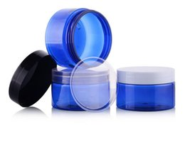 Mini Plastic Cosmetic Bottles UK - Wholesale,50G Cream Jars,Empty Cosmetic Container,Small plastic Box,MINI Canister,Sample Makeup Sub-bottling
