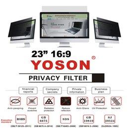 "More Anti Australia - 23"" Privacy Filter Anti Peep Film Screen Protectors for Widescreen Desktop Monitors 16:9 Ratio"