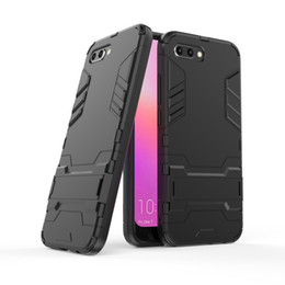 Phone Protective covers online shopping - For Huawei Honor A S X mobile phone case Honor Lite bracket protective cover Honor play two in one anti fall protective shell