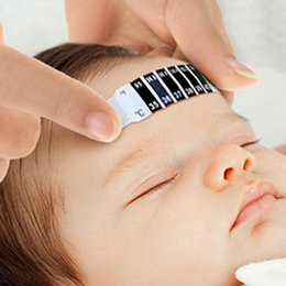 $enCountryForm.capitalKeyWord Australia - Baby Infant Thermometer Forehead Strip Head Fever Forehead Thermometer Child Kids For Body Accessories Test Tool