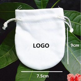 $enCountryForm.capitalKeyWord Australia - Wholesale - Start 10PCS White Replacement Jewelry Pouches Bags For Pandora Charm Bead Necklace Earrings Ring Pendant Packaging New Arrival