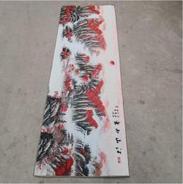$enCountryForm.capitalKeyWord NZ - China old silk Thangka like hanging painting Embroidery Painting long 180cm