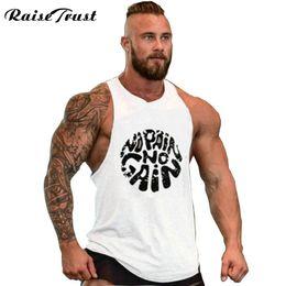 Discount tank hombre - Men Fitness Shirts Men Tank Top Workout Bodybuilding Sportwear Tank Top Sleeveless Vest camiseta tirantes hombre #736535