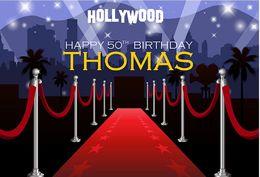 $enCountryForm.capitalKeyWord Australia - 7x5ft Hollywood Red Carpet Entrance Birthday Party Event Washable Wrinkle Free Photo Studio Background Backdrop Polyester Fabric