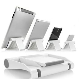 Universal Foldable Holder Stand Tablet Australia - Portable Tablet PC Stand Foldable Phone holder Universal Adjustable Smartphone Tablet Holder