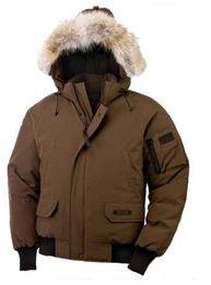 Men Cheap Parka Australia - top shipping new Winter Down Hooded Bomber Parka Jackets Green Zippers Jacket Men Warm Canada Coat Outdoor Coats Cheap Sale