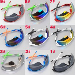 Glasses Trade Australia - Foreign Trade Sunglasses Wish Cycling Glasses Men And Women Dazzle Color Sunglasses European And merican Sports Goggles Sand ` Snow Glasses