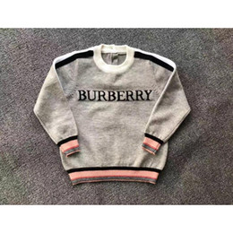 Wholesale long sleeve girls pullovers for sale – custom Brand Design Children Wool Knitwear Winter Pullover Long Sleeve Boys Girls Sweater Casual Kids Baby Sweaters