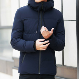 $enCountryForm.capitalKeyWord Australia - Men Parka Outerwear Warm Slim Fit Brand Winter Jacket Men Clothes 2019 Casual Stand Collar Hooded Collar Fashion Winter Coat
