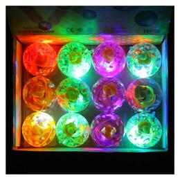 $enCountryForm.capitalKeyWord Australia - 12pcs Pack Hi Bouncing balls bouncy ball bounce ball led flash lighting ball for kids Decompression Toys Amusement Toys