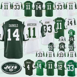 40d946583 2019 jerseys 12 Joe Namath 14 Sam Darnold 33 Jamal Adams Free shopping men  jersey reliable quality