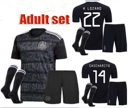 18315dd12b6 Mexico socks online shopping - Mexico ADULT Gold Cup Soccer Jerseys Full  Sets CHICHARITO Camisetas de