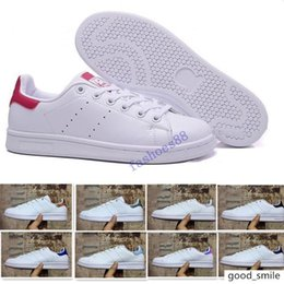 classic leather golf shoes UK - Top quality women men new stan shoes fashion smith sneakers Casual shoes leather sport classic flats 2019 Size 36-45