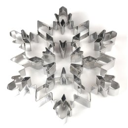 $enCountryForm.capitalKeyWord NZ - Stainless steel Christmas snowflake Shaped Mold Biscuit Tools Cookie Cake Mold Jelly Pastry Baking Cutter Mould Tool