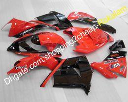 $enCountryForm.capitalKeyWord Australia - ZX-10R Motorcycle Fairings ZX 10R For Kawasaki 04 05 Ninja ZX10R 2004 2005 Red Black Sport Bike Fairing Set (Injection molding)