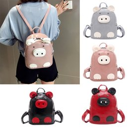 $enCountryForm.capitalKeyWord Australia - KKMHan Brand Women Wild Fashion Fashion Personality Cartoon Pig Small Backpack bagpack Dropshipping rucksack mochilas bolsos